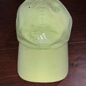 ADIDAS lime green hat